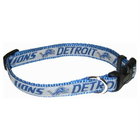 Detroit Lions Pet Collar by Pets First - XL