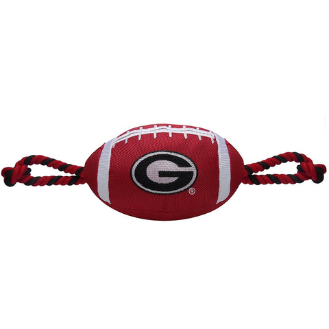 Georgia Bulldogs Pet Nylon Football