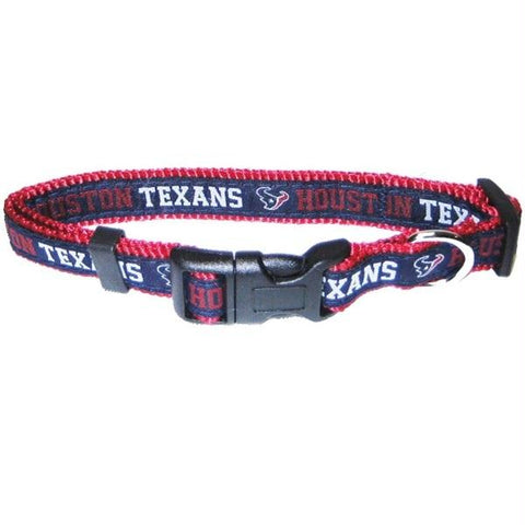 Houston Texans Pet Collar by Pets First - XL