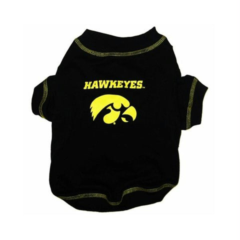Iowa Hawkeyes Dog Tee Shirt