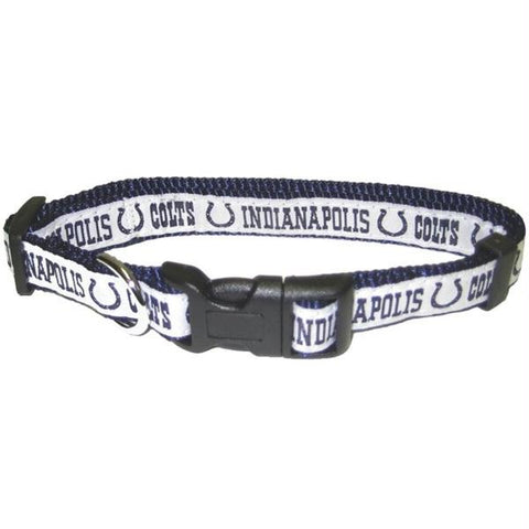 Indianapolis Colts Pet Collar by Pets First - XL