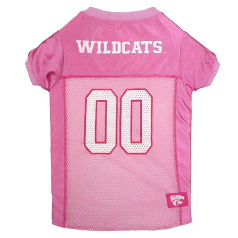 Kansas State Wildcats Pink Pet Jersey
