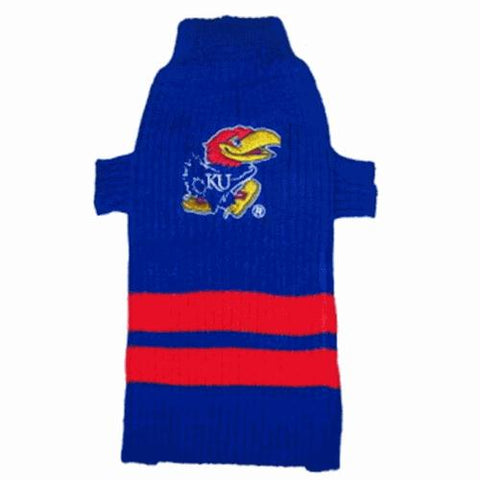 Kansas Jayhawks Dog Sweater