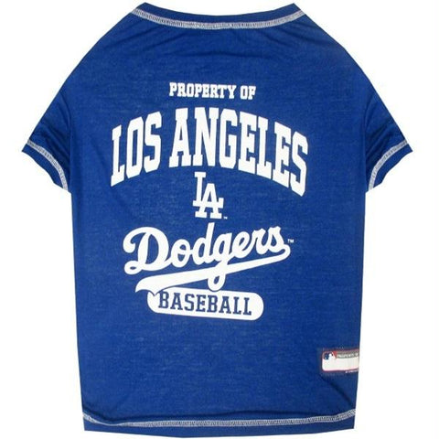 Los Angeles Dodgers Pet T-shirt - XL