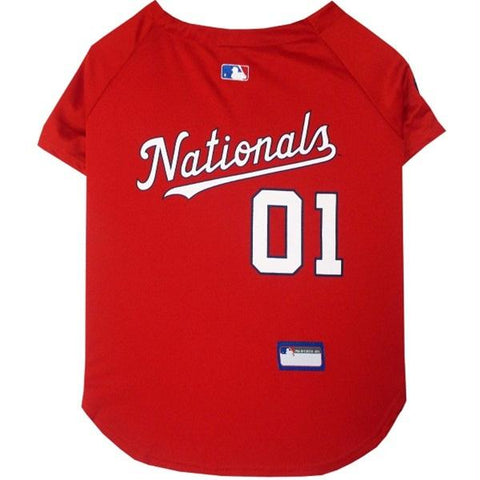 Washington Nationals Pet Jersey - XXL