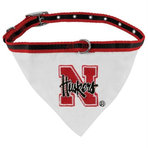 Nebraska Huskers Dog Collar Bandana