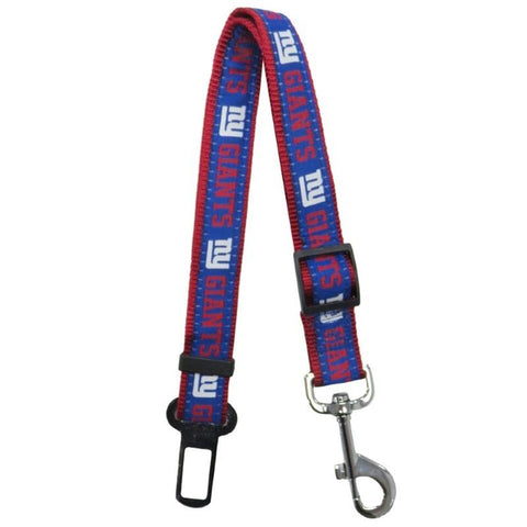 New York Giants Pet Seat Belt Restraint