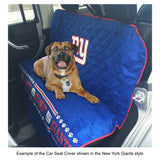 New York Giants Pet Car Seat Cover