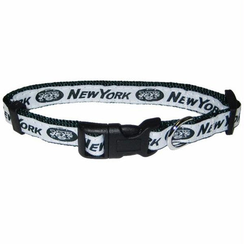 New York Jets Pet Collar by Pets First - XL