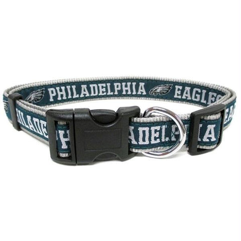 Philadelphia Eagles Pet Collar by Pets First - XL