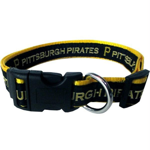 Pittsburgh Pirates Pet Collar by Pets First - XL