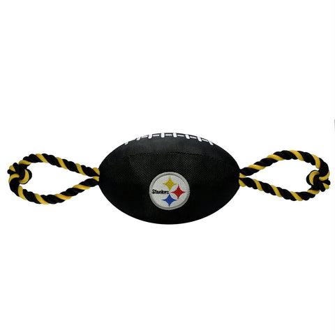 Pittsburgh Steelers Pet Nylon Football