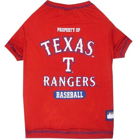 Texas Rangers Pet T-shirt - XL
