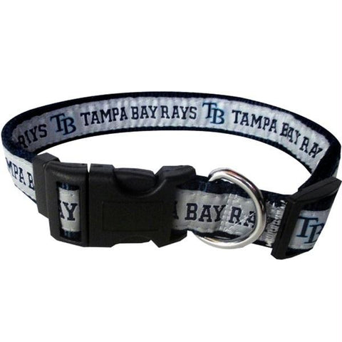 Tampa Bay Rays Pet Collar by Pets First - XL