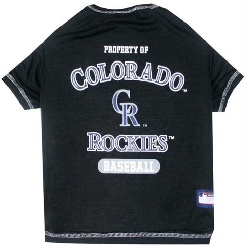 Colorado Rockies Pet T-shirt - XL