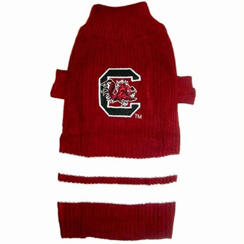 South Carolina Gamecocks Dog Sweater
