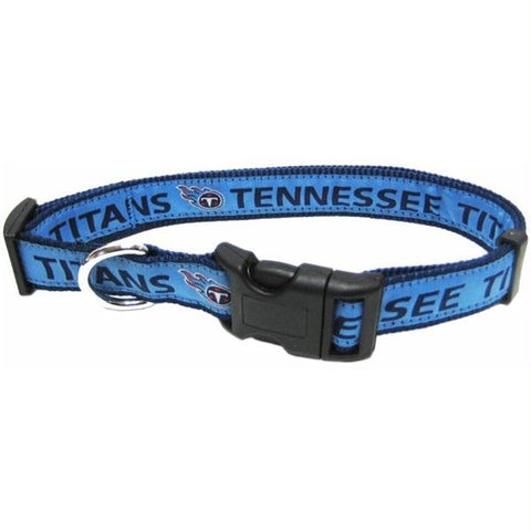 Tennessee Titans Pet Collar by Pets First - XL