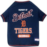 Detroit Tigers Pet T-shirt - XL