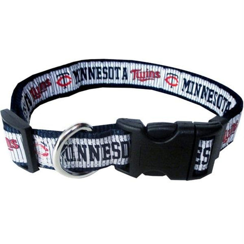 Minnesota Twins Pet Collar by Pets First - XL