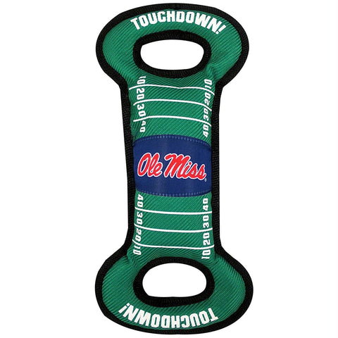 Ole Miss Rebels Field Pull Pet Toy