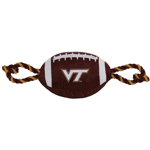Virginia Tech Hokies Pet Nylon Football