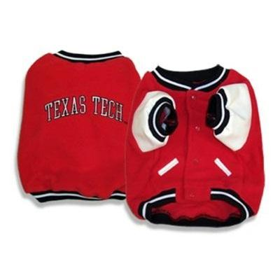Texas Tech Red Raiders Pet Varsity Jacket