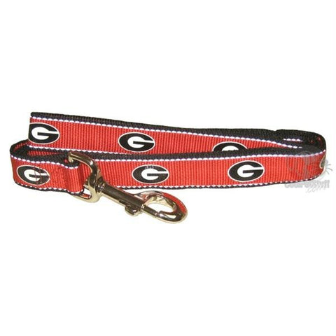 Georgia Bulldogs Reflective Pet Leash