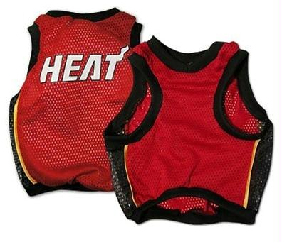 Miami Heat Alternate Style Dog Jersey