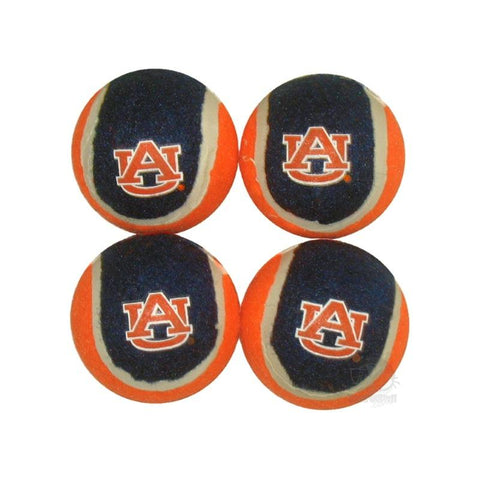 Auburn Tigers Tennis Ball 4-Pak