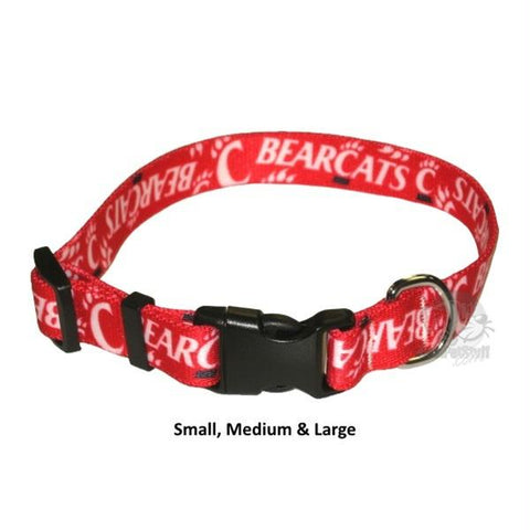 Cincinnati Bearcats Nylon Collar - Small