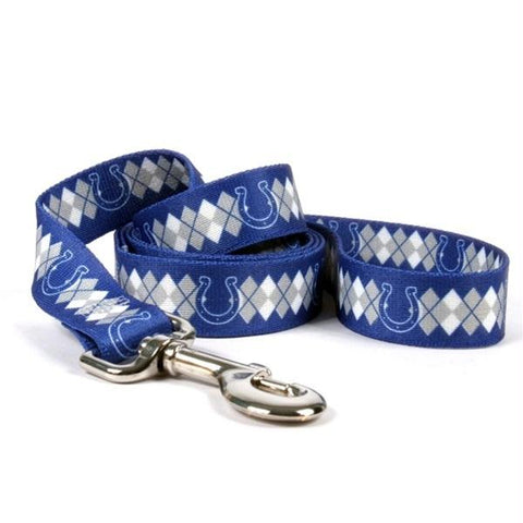 Indianapolis Colts Argyle Nylon Leash