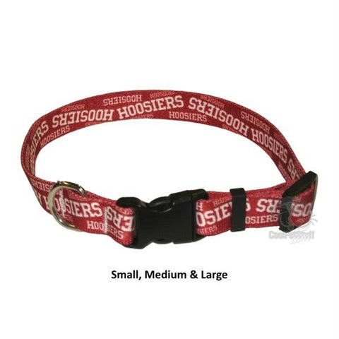 Indiana Hoosiers Nylon Collar