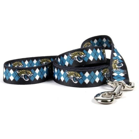 Jacksonville Jaguars Argyle Nylon Leash