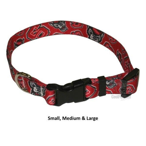 NC State Wolfpack Nylon Collar