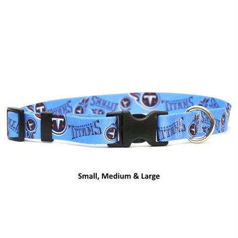 Tennessee Titans Nylon Collar