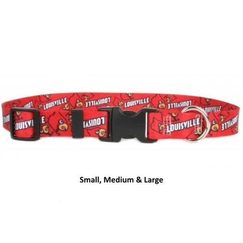 Louisville Cardinals Nylon Collar