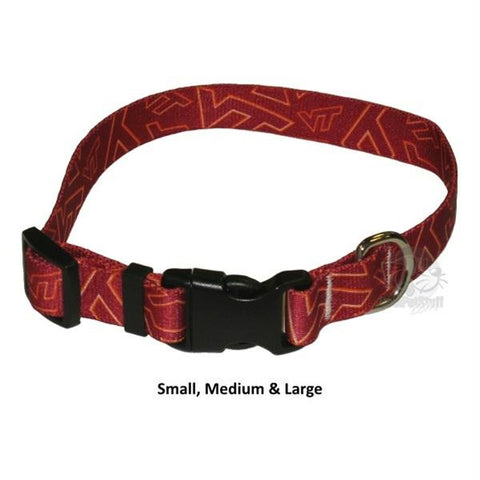 Virginia Tech Hokies Nylon Collar