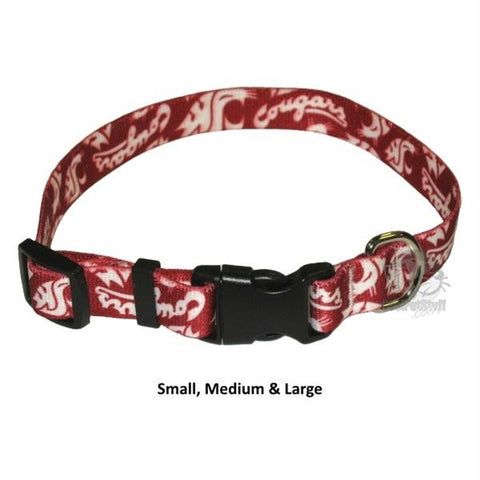 Washington State Cougars Nylon Collar