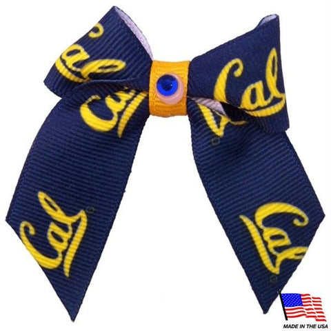 Cal Berkeley Bears Pet Hair Bow