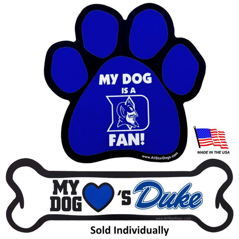 Duke Blue Devils Car Magnets