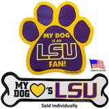 LSU Tigers Car Magnets