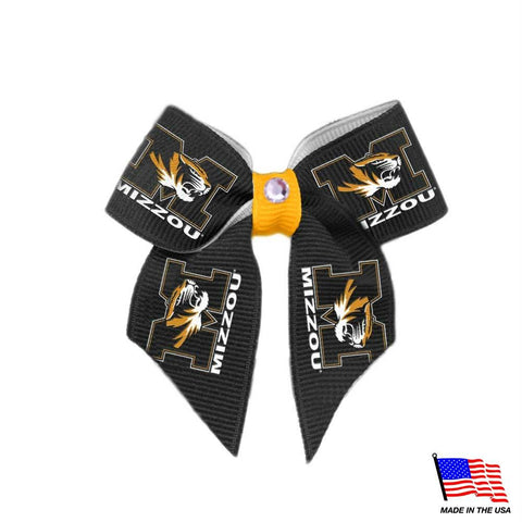 Missouri Tigers Pet Hair Bow