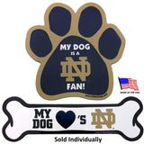 Notre Dame Fighting Irish Car Magnets
