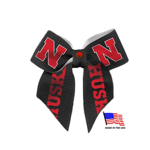 Nebraska Huskers Pet Hair Bow