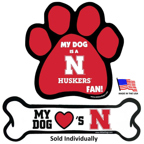 Nebraska Huskers Car Magnets