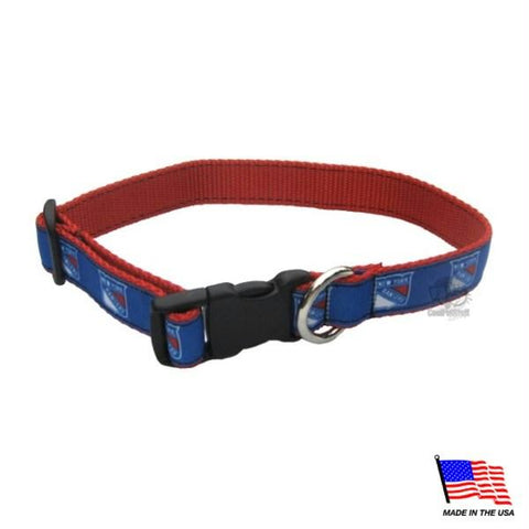 New York Rangers Premium Pet Collar