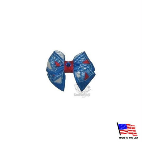 New York Rangers Pet Hair Bow