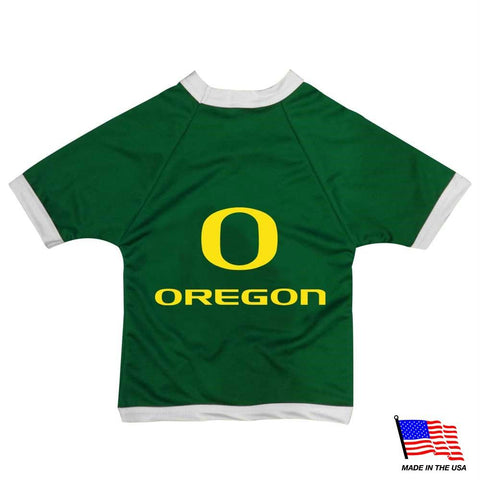 Oregon Ducks Athletic Mesh Pet Jersey