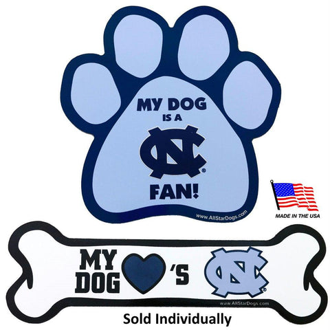North Carolina Tarheels Car Magnets