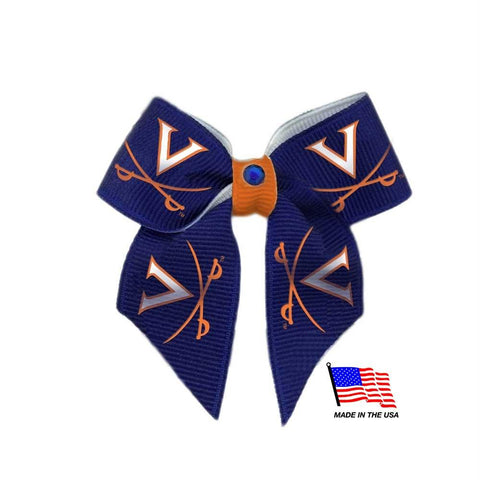 Virginia Cavaliers Pet Hair Bow